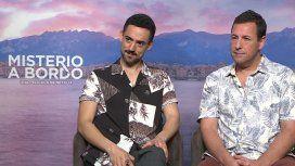 VIDEO: minutouno.com, mano a mano con Adam Sandler tras el estreno de su nueva película con Jennifer Aniston