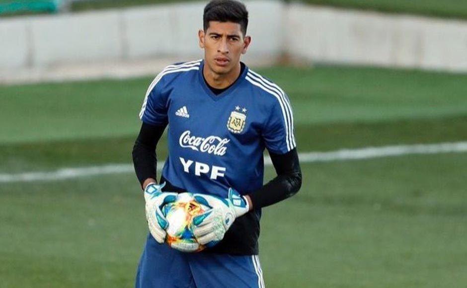 Esteban Andrada se lesionó en un entrenamiento