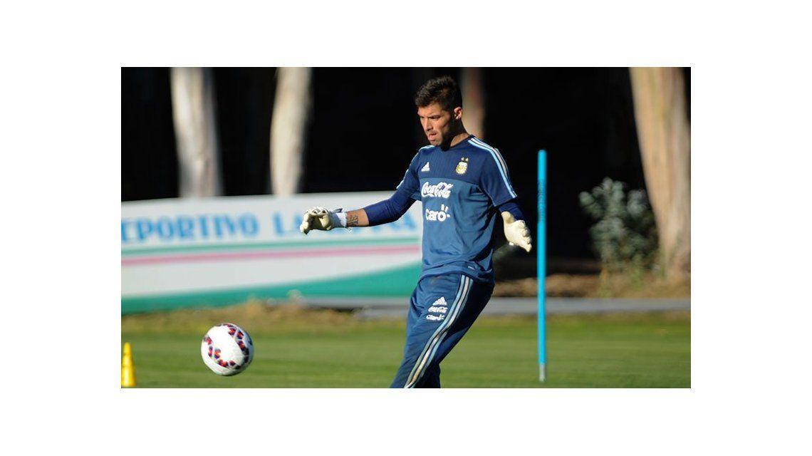 Mariano Andújar se perdió la Copa América 2015 y lo reemplazó Marchesín