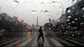 Alerta meteorológico por tormentas y posible caída de granizo