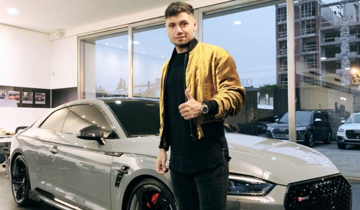 Mauro Zárate ostentó su nuevo auto de edición limitada