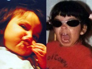 el archivo ataca de nuevo: despues de lo peor de tus 15 llegan las fotos de la infancia