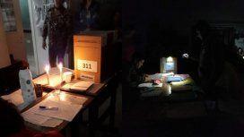 Con inconvenientes por el apagón, se desarrollaron las elecciones en cuatro provincias