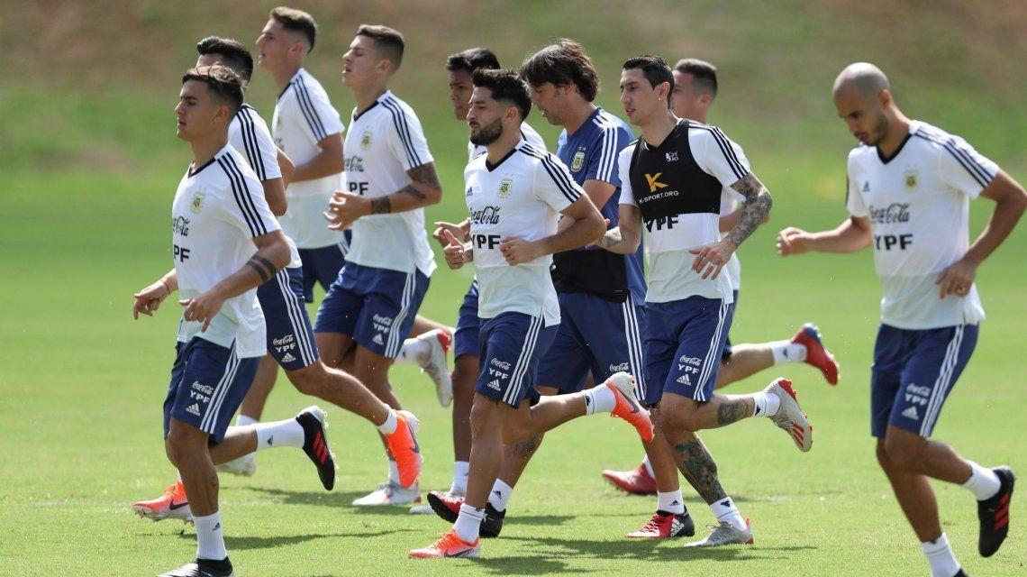 Copa América: la Selección argentina saldría con el mismo equipo para enfrentar a Paraguay