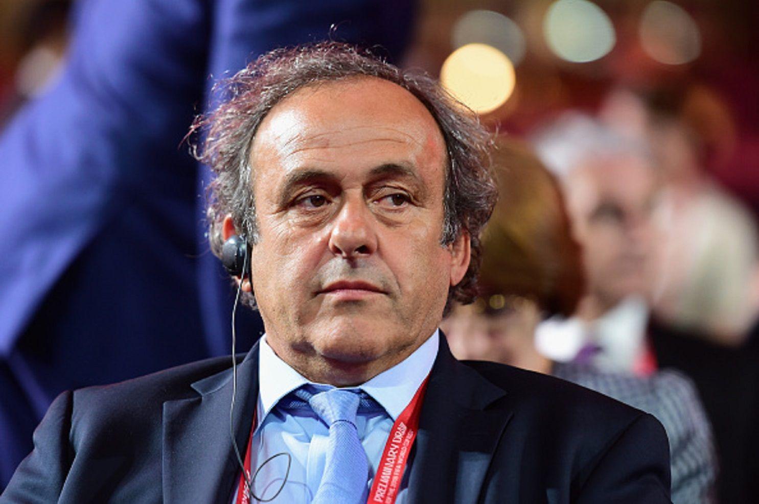 Detuvieron a Michel Platini por presunta corrupción en la adjudicación del Mundial de Qatar 2022