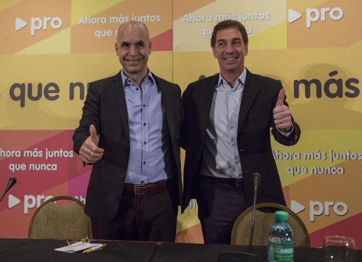 Horacio Rodríguez Larreta y Diego Santilli irán por la reelección en la Ciudad