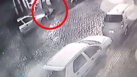 Colegiales: una cámara registró el momento en que descartaban el cuerpo de la mujer