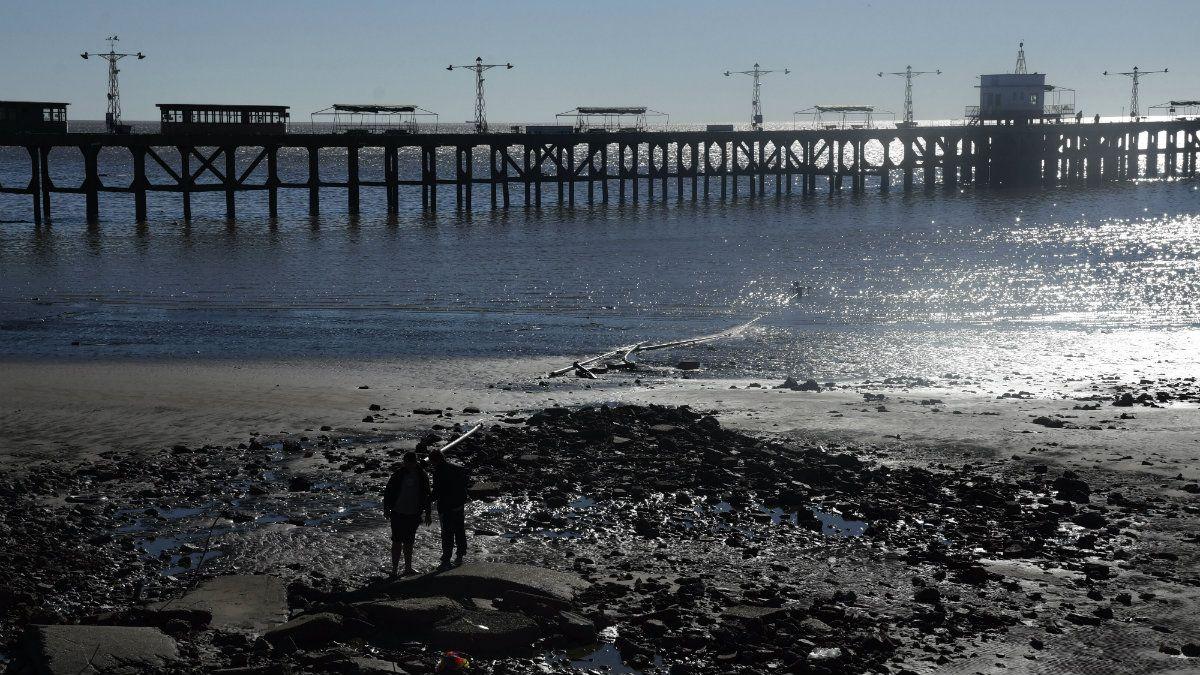 Alertan por una bajante de 1,9 metros en el Río de la Plata