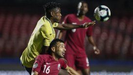 Colombia le ganó a Qatar y es el primer clasificado a cuartos de final