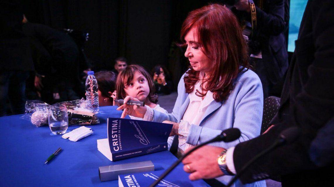 Cristina presentó Sinceramente en Rosario
