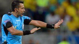 El chileno Julio Bascuñán será el árbitro de Argentina-Qatar