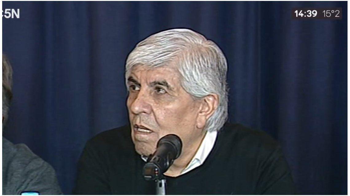 Hugo Moyano: El discurso del Presidente dio pena, por eso estamos como estamos