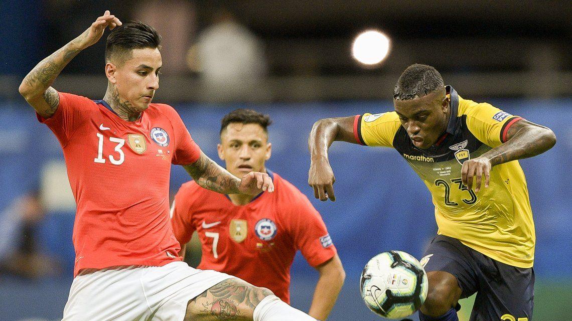 Chile venció a Ecuador y clasificó