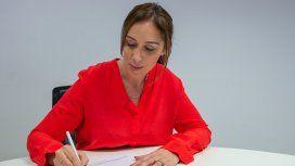 Vidal firmó la candidatura y buscará la reelección en Provincia junto a Salvador