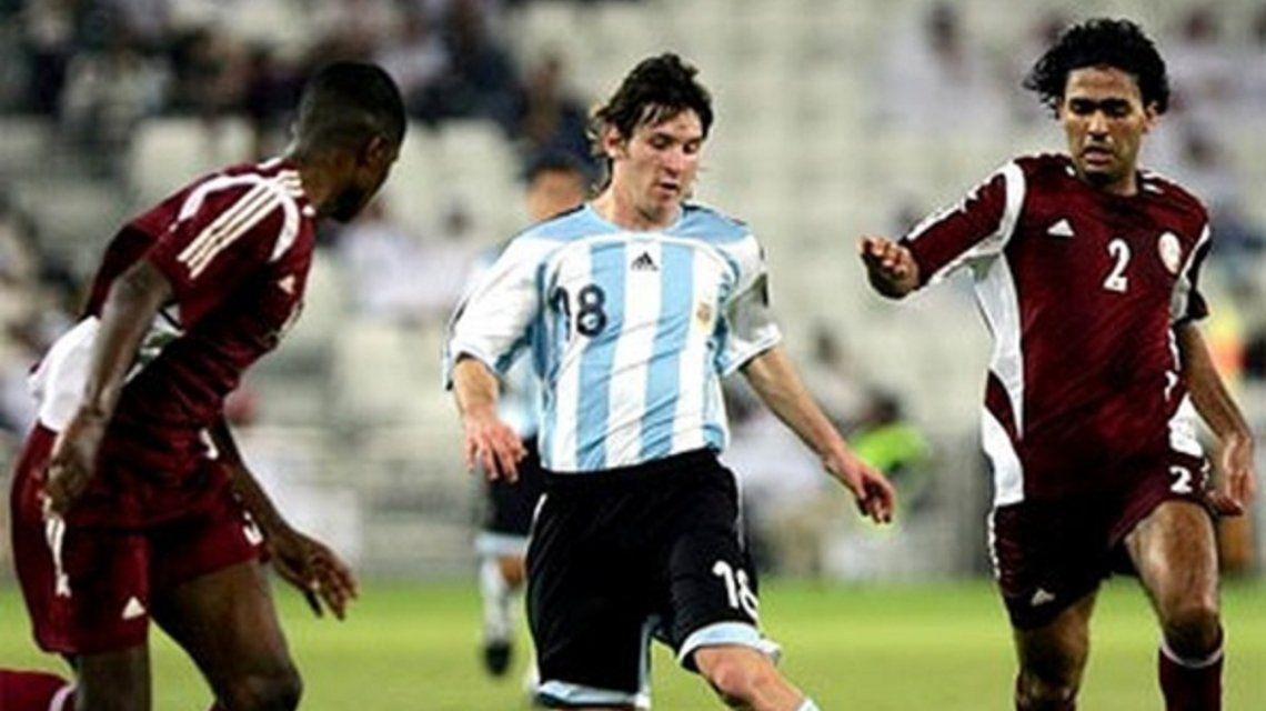 Argentina goleó a Qatar la única vez que se enfrentaron