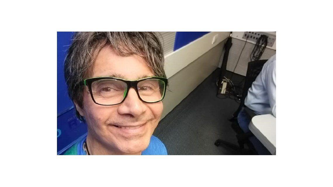 Claudio María Domínguez está en Radio 10