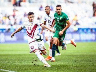 venezuela le gano a bolivia y se clasifico a cuartos de final de la copa america