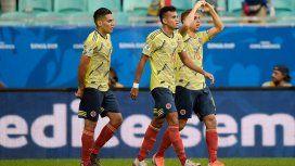 Gustavo Cuéllar marcó el 1 a 0 para Colombia ante Paraguay