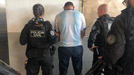 Barrabrava detenido en la Copa América- Crédito:@guillermomadero