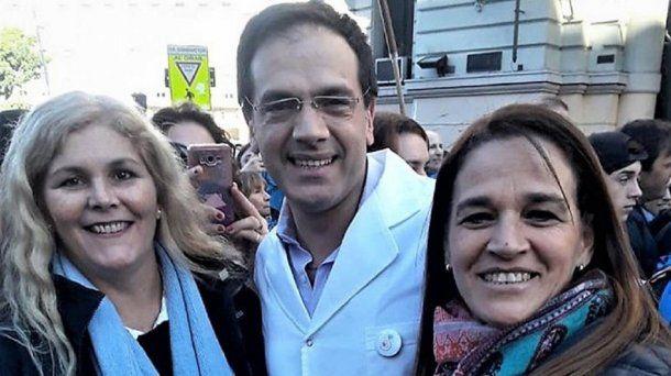 Leandro Rodriguez Lastra y Cecilia Pando