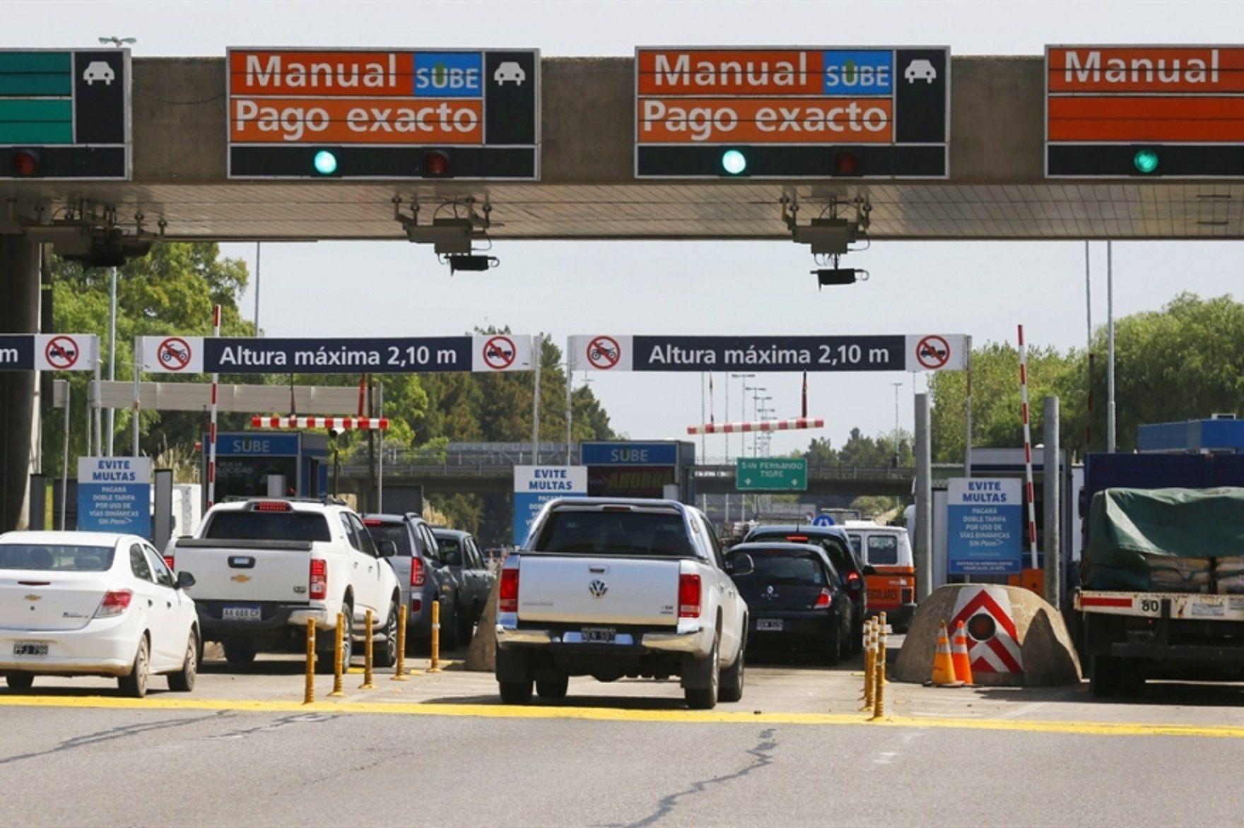 Cobrarán multas de hasta $15 mil por no pagar los peajes de la autopista Buenos Aires-La Plata