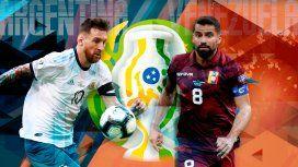 Venezuela vs Argentina por los cuartos de final por Copa América: horario