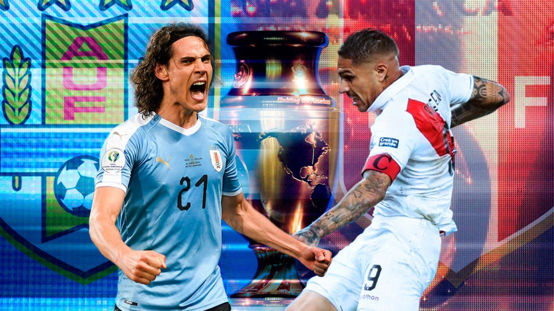 Uruguay vs Perú por los cuartos de final de la Copa América: horario, formaciones y TV