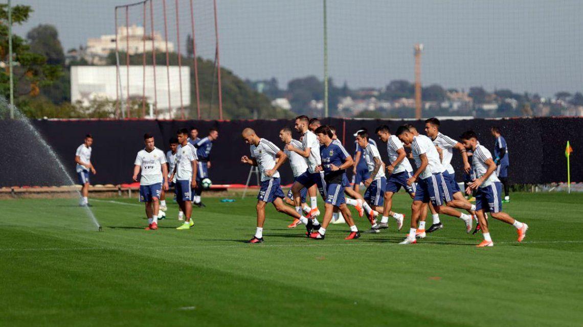 Sin cambios: el equipo de Scaloni para que Argentina enfrente a Brasil por la semifinal de la Copa América