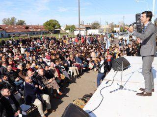urtubey en concordia: la gesta de güemes nos exige ser consecuentes con nuestras convicciones
