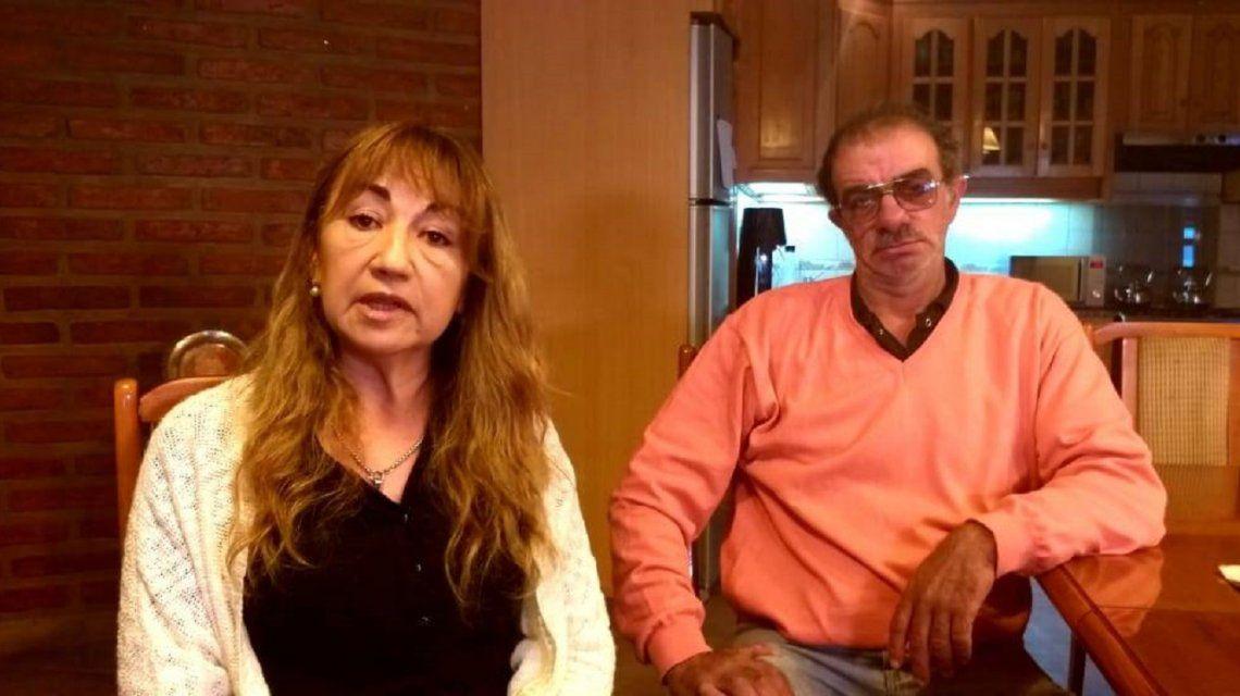 Susana y su marido piden Justicia por su hija Camila