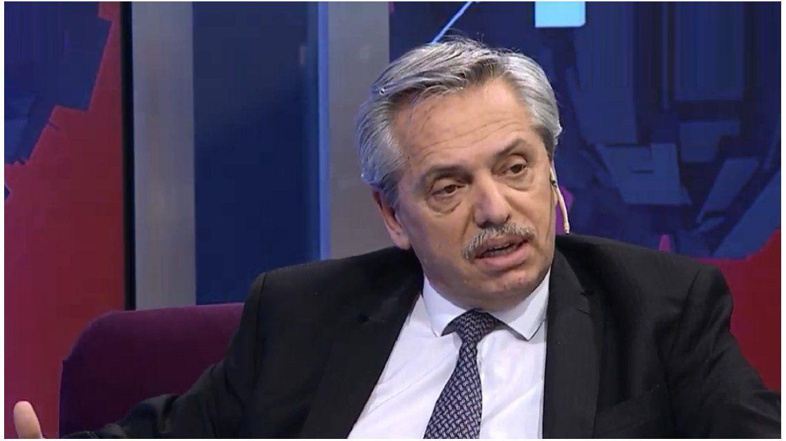 Alberto Fernández en C5N
