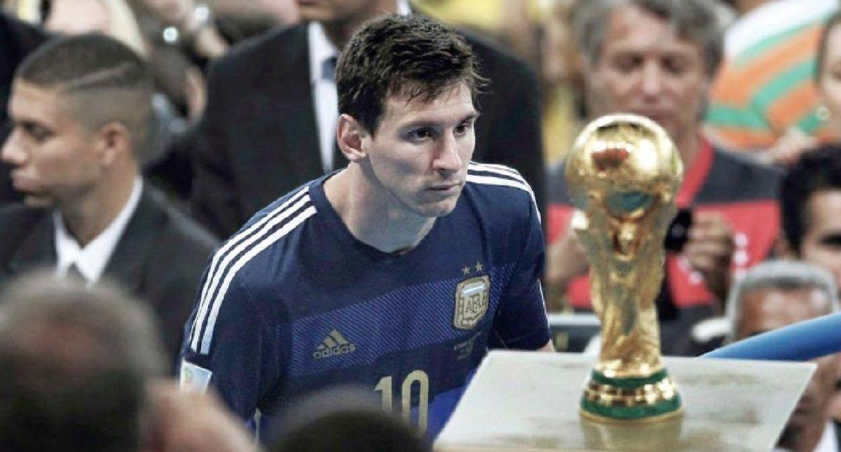 Messi mira la Copa del Mundo: en el Maracaná quedó en las puertas de levantarla