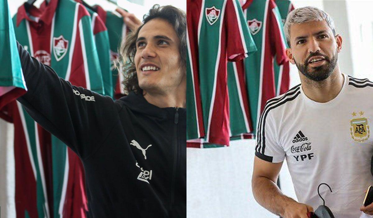 Fluminense regaló camisetas a Argentina y Uruguay y las reacciones fueron muy distintas