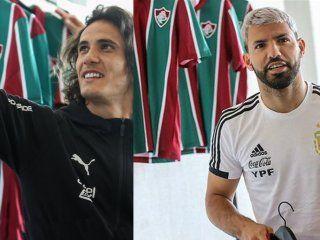 fluminense regalo camisetas a argentina y uruguay y las reacciones fueron muy distintas