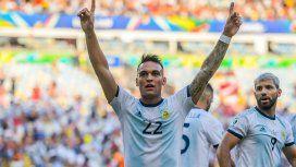 Argentina se hizo fuerte ante Venezuela y está en la semifinal de la Copa América