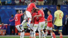 Chile semifinalista: tuvo puntería en los penales y eliminó a Colombia que se va invicto