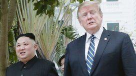 Trump le propuso a Kim Jong Un reunirse en la frontera entre las dos Coreas