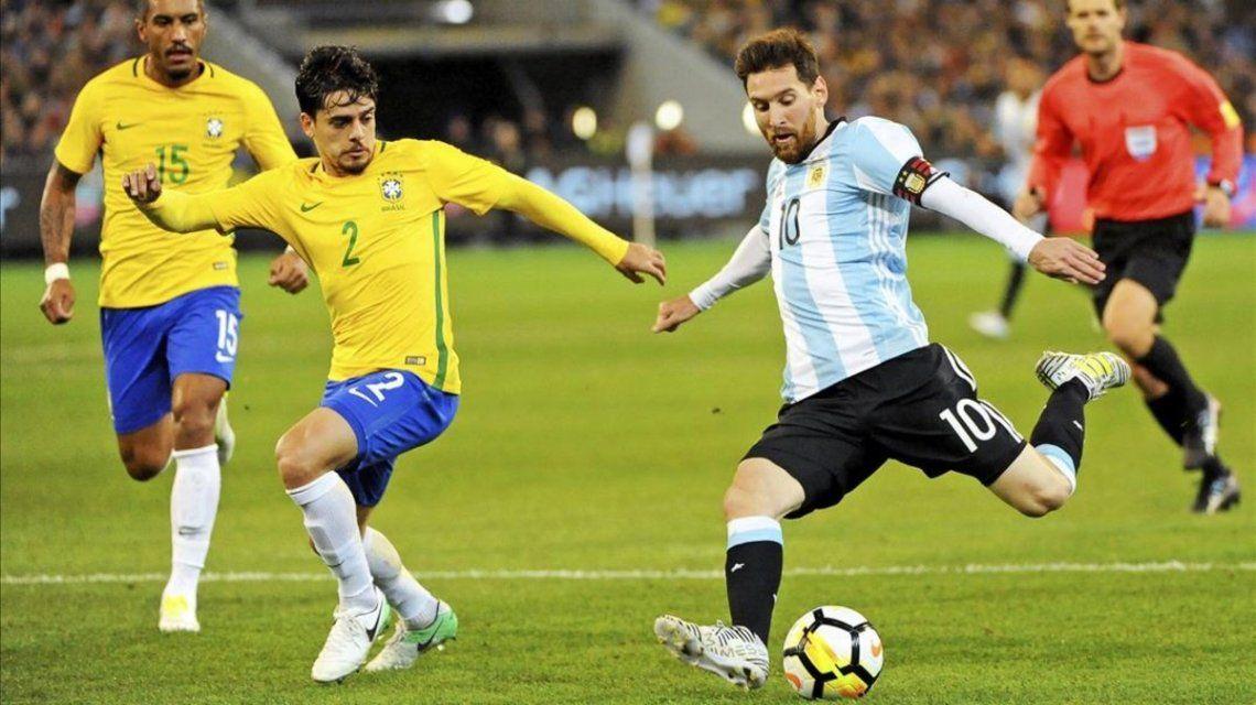 El historial de partidos en Copa América entre Brasil y Argentina antes de la semifinal