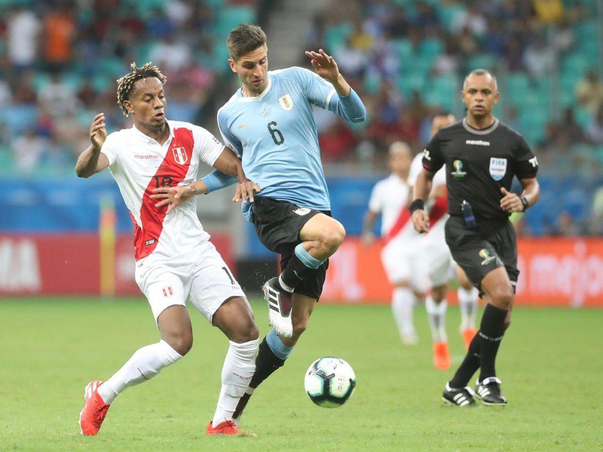 Perú eliminó a Uruguay