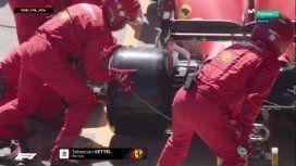 Insólito: en Ferrari se olvidaron de Vettel