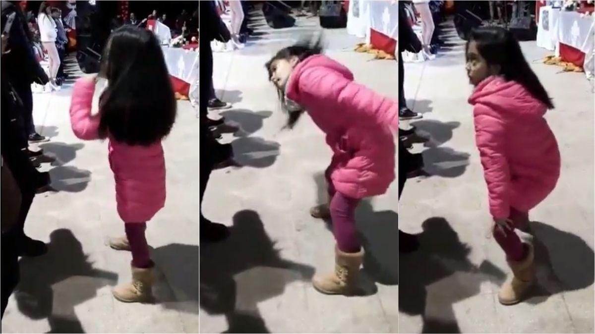 Video viral: la nena que bailó al estilo reggaetón el Hosanna, una canción tradicional de misa