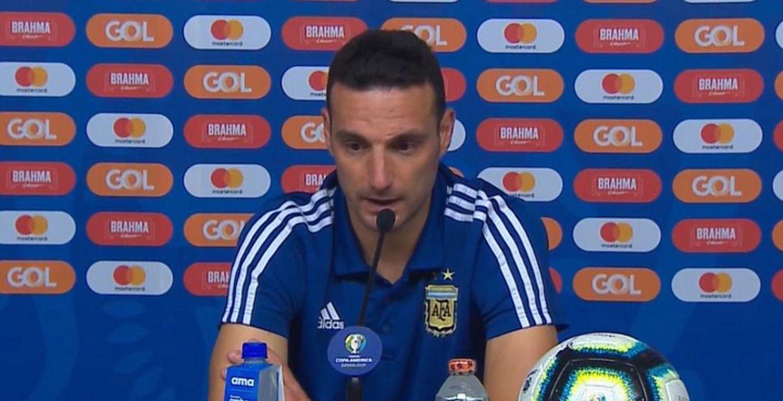 Con críticas al árbitro, Scaloni aseguró que Argentina mereció ganarle a Brasil