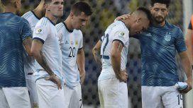 El llanto de Lautaro y Paredes tras la eliminación de la Copa América