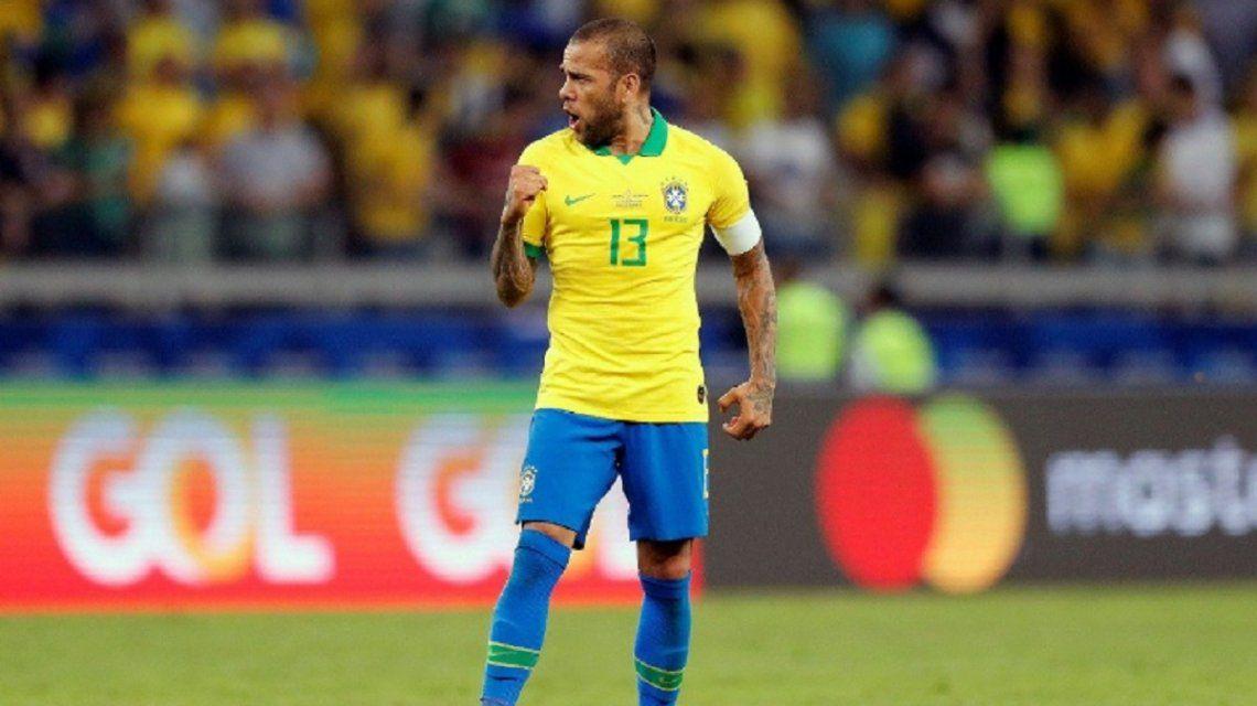 El capitán de Brasil fue la gran figura de su equipo