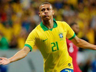 polemico: richarlison se burlo de los argentinos tras la derrota ante brasil
