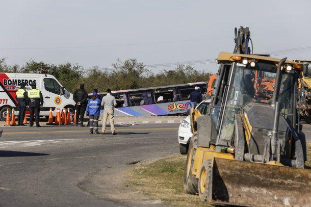 El colectivo que en Tucumán y dejó al menos 15 jubilados muerto. Foto: Telám