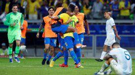 El irónico mensaje de la AFA por el arbitraje ante Brasil: Vimos lo mismo que vos