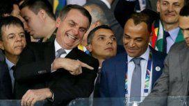 ¿La seguridad de Bolsonaro provocó el bloqueo del VAR en la semifinal entre Argentina y Brasil?