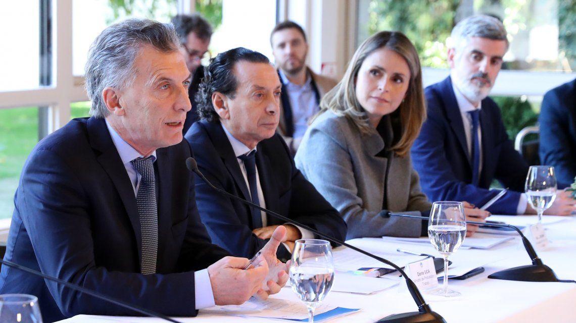 Ahora Macri quiere libre comercio con Estados Unidos