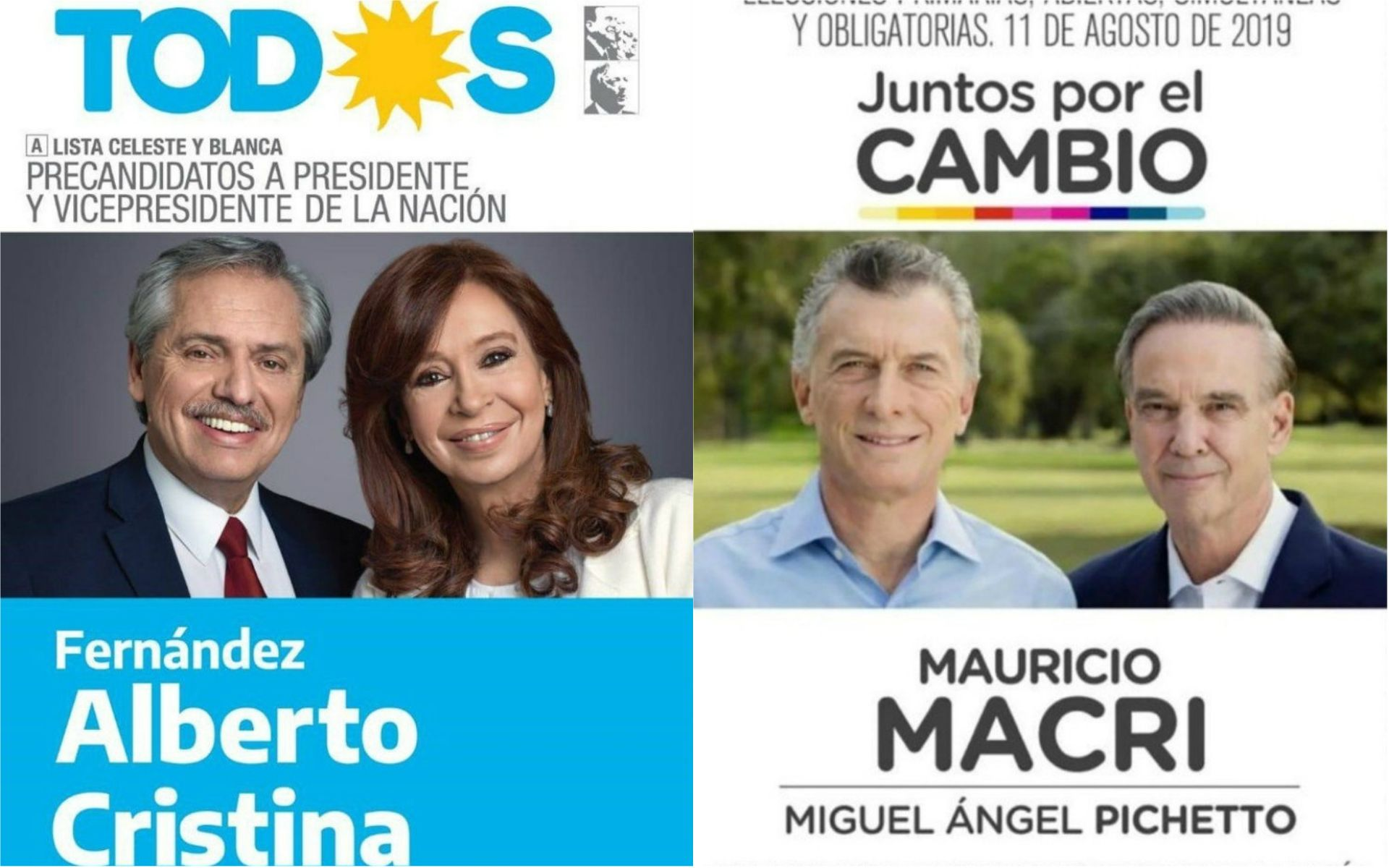 Boletas partidarias: por qué Mauricio es Macri y Fernández es Cristina